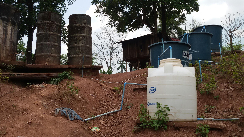 สร้างระบบกรองน้ำดื่ม